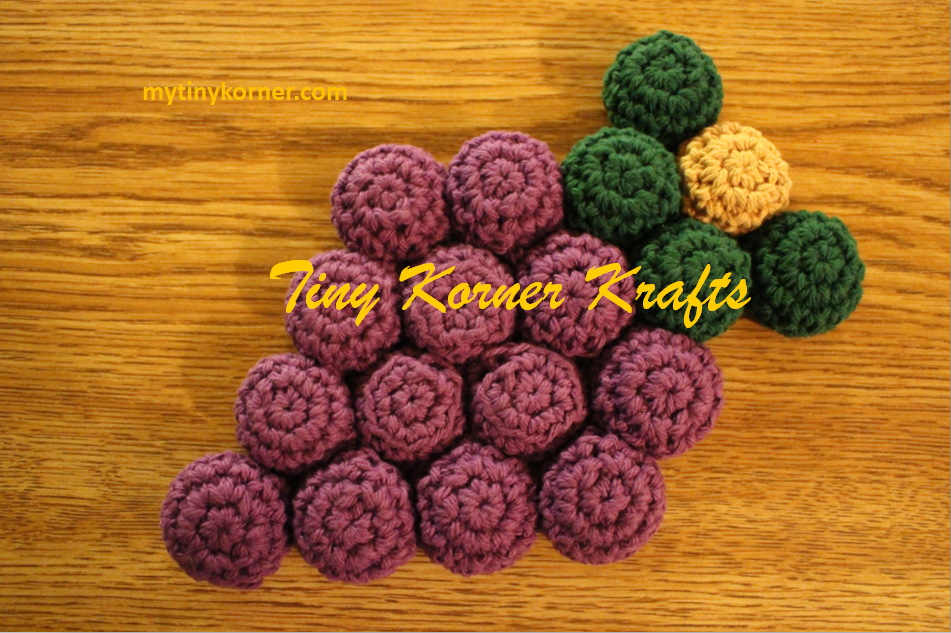 Bottle Cap Hot Pad Shaped Into A Cluster Of Grapes 100 Cotton