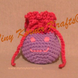 Hanging Happy Face Bag